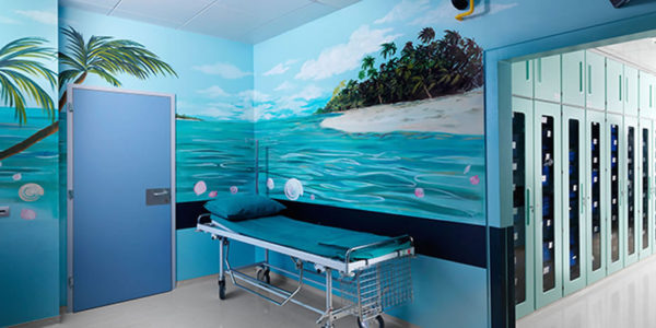 Operating Rooms Area